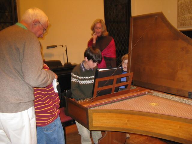 Aspiring harpsichordist?