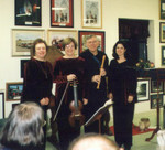 City Caf�. Belmont NC, Fall 2002 - an evening with a three courses dinner and baroque chamber music between the courses.