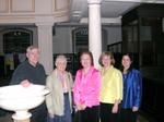After concert with Jane Clark (Dodgson) at Grosvenor Chapel, Mayfair.