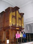 CPM with William Drake Organ (in Abraham Jordan case), Grosvenor Chapel, London.