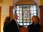 The Tallis window at St. Alfege, Greenwich.