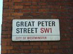 Farewell to our week on Great Peter Street.