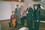 Carolina Pro Musica avec Ren-Serge Marty, Consul Gnral de France, (Atlanta) March 3, 2002, Belmont Abbey College, Belmont, NC. 