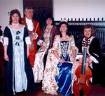 Carolina Pro Musica with Queen Charlotte. St. Mary's Chapel