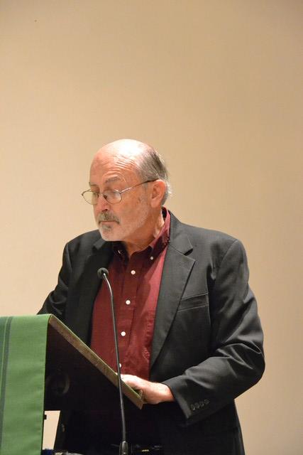 Dean Hoffman reading a poem by John Masefield. Blackbeard Show October 2018